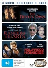 The Hollywood Homicide  / Devil's Own  / Random Hearts (DVD, 2006, 3-Disc Set)