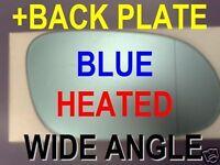 MERCEDES CLK W209 A209 C209 W208 A208 C208 SLK R170 WING MIRROR GLASS BLUE