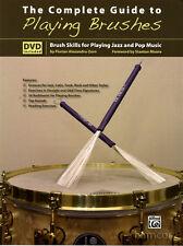 La guida completa per giocare SPAZZOLE JAZZ & POP PENNELLO capacità TAMBURO BOOK & DVD