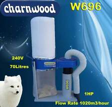 Woodworking Woodturning Charnwood W696 Dust Extractor