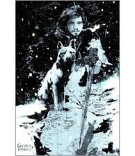 Game of Thrones Jon Snow Poster Art Print By Mondo Artist Jock