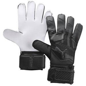 Puma Men's One Grip 4 RC GoalKeeper Gloves Black/Grey 041655 03