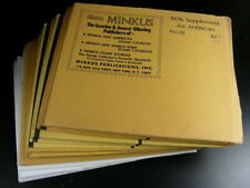 Minkus United States All American Album Supplements 1960~89 2 Holes Nos s816