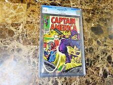 Captain America #108 Cgc 9.6 Unrestored White Pages(Dec 1968, Marvel)
