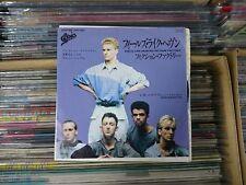 """FICTION FACTORY Feels Like Heaven JAPAN 7"""" PROMO 07.5P-307"""
