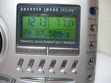 Sharper Image Travel Soother 20 Radio Alarm Clock Si621 As-Is # 1145 u