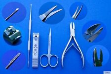 Corner File Spoon Nail Clipper Cuticle Scissors Nail Nippers Profi-4 Set