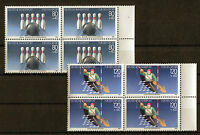 Bund 1238 - 1239 VB sauber postfrisch Viererblock 1985