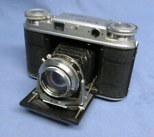 Rare Voigtlander VITO III 35mm Folding Rangefinder Camera w/Ultron 50mm f2 Lens