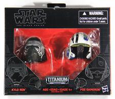 L001878 Star Wars Black Series Titanium HELMETS #01 Kylo Ren & Poe Dameron