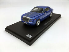 Kyosho 1:43 Rolls-Royce Phantom Coupe Arabean Blue Diecast Metal Model Car