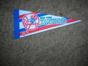 New York Yankees 1980's mini pennant