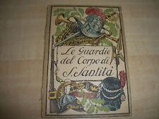 ANTIQUE LE GUARDIE DEL CORPO DI S. SANTITA VATICAN GUARDS COLOR FOLDOUT BOOKLET