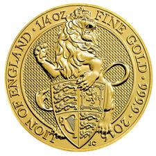 1/4 oz Gold Queen's Beasts - The Lion of England - Großbritannien 2016