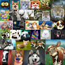 5D DIY Diamond Painting Animal  Full Drill Cross Stitch Needlework Set Craft