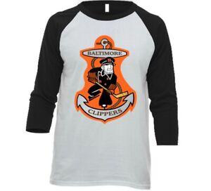 Baltimore Clippers AHL Hockey T Shirt, V-Neck, Long Sleeve, 3/4 Sleeve, Tank Top