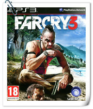 PS3 FarCry 3 Far Cry SONY PlayStation Action Games Ubisoft