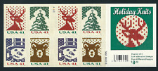 Scott #4207/10...41 Cent...Holiday Knits...2 Sided Booklet of 20