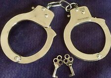 Metal Play Pretend Handcuffs Keys Theater Costume Toys Party Favors Adult