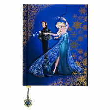 Disney Store Fairytale Designer Collection Elsa and Hans Journal