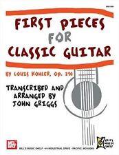 Premières pièces pour guitare classique
