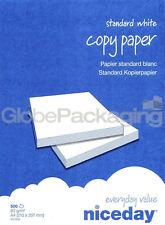 1 Resma (500 Hojas) de A4 Impresora Copiadora papel 80gsm