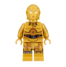 Lego C-3PO 75222 75159 75136 Colorful Wires, Printed Legs Star Wars Minifigure