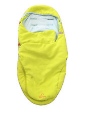 Quinny Moodd Baby Infant Nest Cocoon Yellow Cosytoes Cosy Footmuff