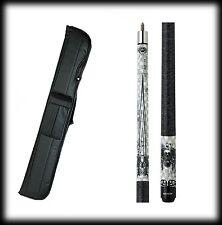 New Eight Ball Mafia EBM06 Pool Cue Stick- Graphic Eight Ball 18-21 oz & Case