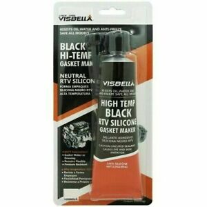 RTV Silicone Instant Gasket Maker black Hi Temperature Sealant 105G Tube Engine