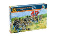 Italeri 6178 1/72 Scale Model Figure Kit American Civil War Confederae Infantry