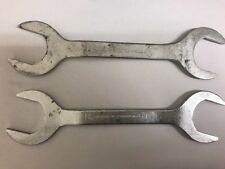 2 PROTO THIN HYDRAULIC/PUMP OPEN END SERVICE WRENCH  AN-8505-15  1-3/16 X 1-1/4