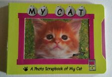 Must Have Cat Lovers My Cat Pet Picture Me Photo Memory Book Scrapbook New