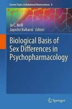 Biological Basis of Sex Differences in Psychopharmacology (Current Topics in Beh