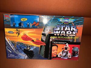 Star Wars Micro Machines Space Boba Fett Cloud City Playset Galoob 1996 Sealed