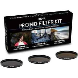 Hoya Digital Filter 67mm Kit 3 Filters PROND8 PROND64 PROND1000