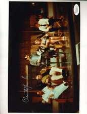 CHRISTOPHER LEE JSA Coa Hand Signed 8x10 James Bond Photo Autograph Authentic