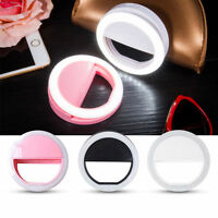 Selfie Flash LED Camera Photography Ring Light For iPhone Android Universal