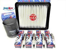 fits SUZUKI JIMNY Oil & Air Filter + Spark Plug Service Kit 1.3 1998-2005 G13BB