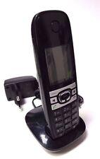 Gigaset C610 wie C59h kompatibel zu C610A C590 C595 Mobilteil & Ladeschale+Akkus