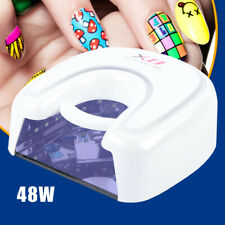 48W Wireless Uv Led Nails Lamp Gel Nails Dryer Battery Operated Rechargeable