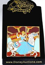 Rare New Le 500 Disney Auctions Pin✿ Cinderella Carousel Horse Slider Up & Down