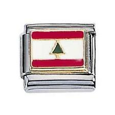 Zoppini Charm Lebanon Flag (C1BSB_1500)