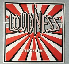 LOUDNESS THUNDER IN THE EAST Vinyl LP ATCO Records 1985 Catalogue Number 90246-1