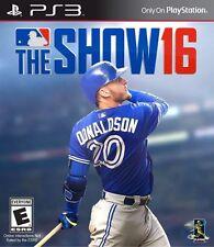 NEW MLB 16: The Show (Sony PlayStation 3, 2016) Major League Baseball PS3