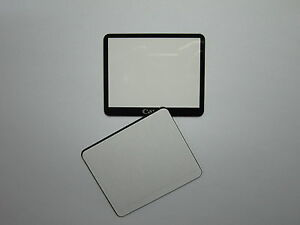 Window Display Outer Glass For Canon EOS 5D Mark II LCD External Screen + Tape