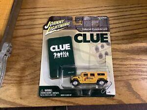 Johnny Lightning Clue Colonel Mustard Hummer H1 NEW