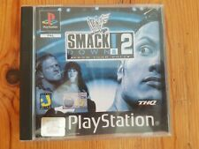 WWF SmackDown 2: Know Your Role (Sony PlayStation 1, 2001) - US Version