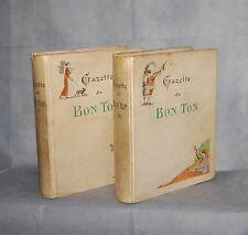 Gazette du Bon Ton Arts Modes & Frivolities, November 1912 - October 1913 2 Vol.