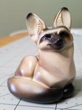 Windstone Editions bat-eared fox, natural color, pristine condition